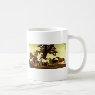 Five Brood Mares by George Stubbs Coffee Mug