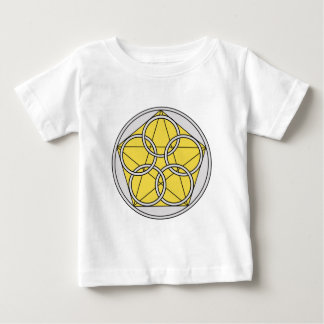 Five Circle Star1 Baby T-Shirt