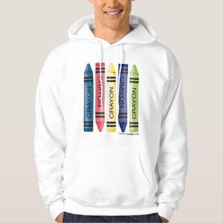 Five Crayons Hoodie