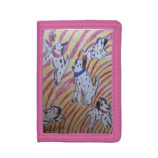 five dalmatians trifold wallet