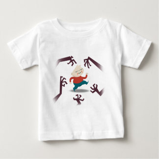 Five Little Zombies And Fred Gear Baby T-Shirt