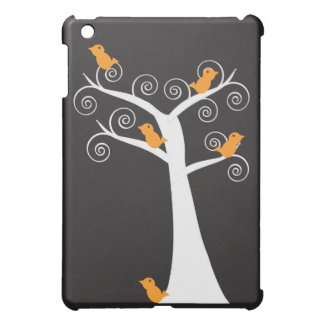 Five Orange Birds in a Tree iPad Mini Covers