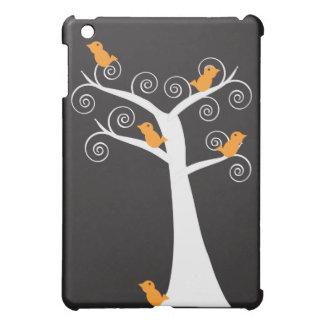 Five Orange Birds in a Tree iPad Mini Cases