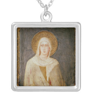 Five Saints, detail of St. Clare Pendant