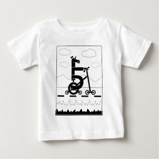 Five Speed Unicorn Baby T-Shirt