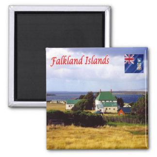FK - Falkland Islands - Panorama Magnet