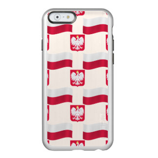Flag and Crest Poland Incipio Feather® Shine iPhone 6 Case