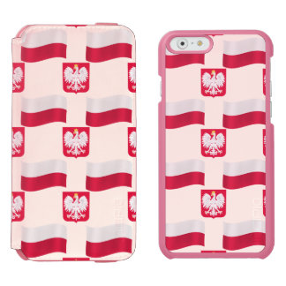 Flag and Crest Poland Incipio Watson™ iPhone 6 Wallet Case