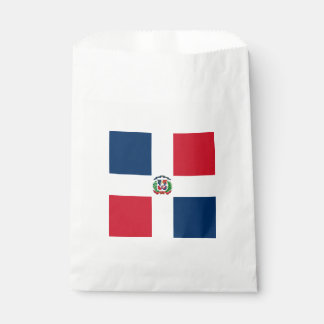 Flag: Dominican Republic Favour Bags