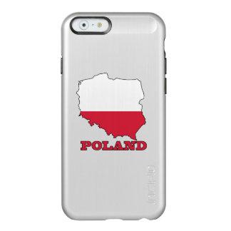Flag in Map of Poland Incipio Feather® Shine iPhone 6 Case