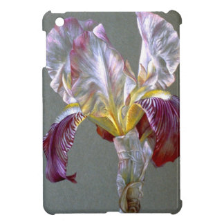Flag Iris Botanical fine art ipad mini case