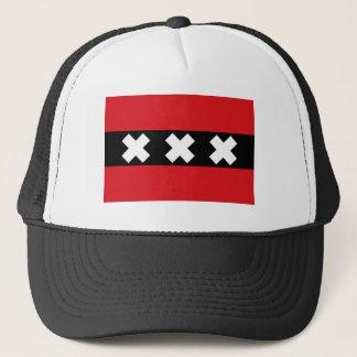Flag of Amsterdam Trucker Hat