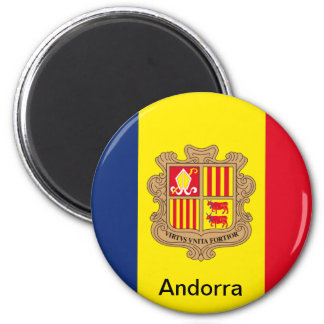Flag of Andorra Magnet