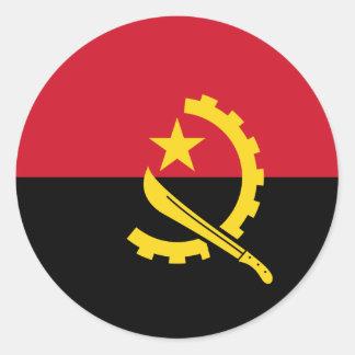 Flag of Angola Sticker