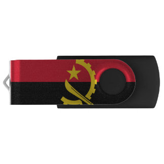 Flag of Angola USB Flash Drive