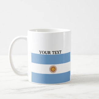 Flag of Argentina Coffee Mugs