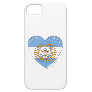 Flag of ARGENTINA national SOCCER May sun iPhone 5 Cover