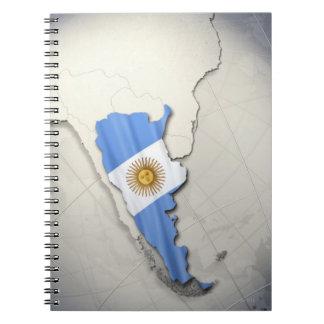 Flag of Argentina Notebook
