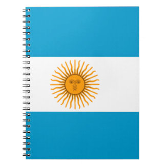 Flag of Argentina Notebooks