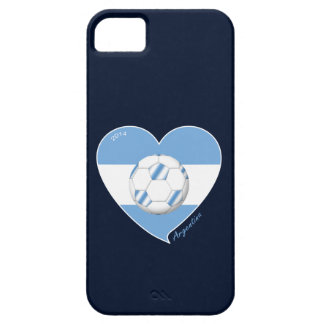 Flag of ARGENTINA SOCCER national team 2014 Barely There iPhone 5 Case