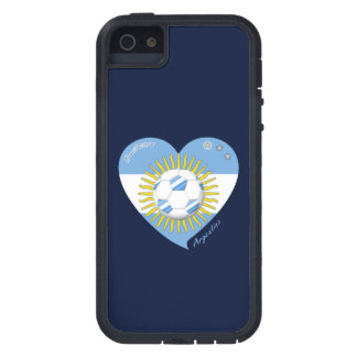 Flag of ARGENTINA SOCCER national team 2014 iPhone 5 Case