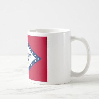 Flag of Arkansas Basic White Mug