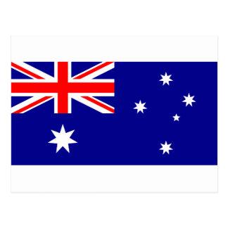 Flag of Australia - Australian Flag Postcard