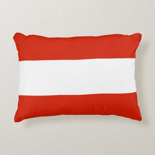 Flag of Austria Decorative Cushion