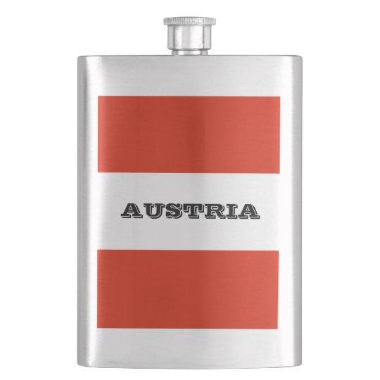 Flag of Austria Hip Flask