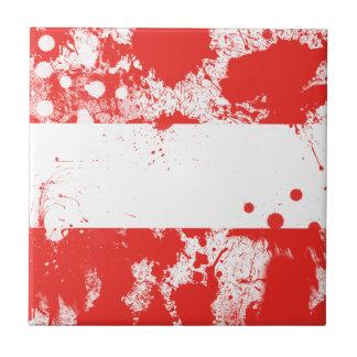 Flag of Austria Ceramic Tile