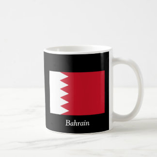 Flag of Bahrain Classic White Coffee Mug
