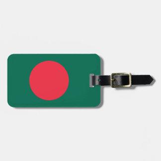 Flag of Bangladesh Easy ID Personal Luggage Tag