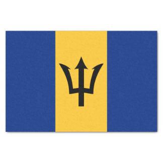 Flag of Barbados Tissue Paper