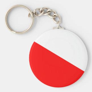 Flag of Barotseland Basic Round Button Key Ring