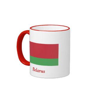 Flag of Belarus Ringer Coffee Mug