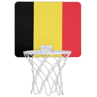 Flag of Belgium Mini Basketball Goal Mini Basketball Hoop
