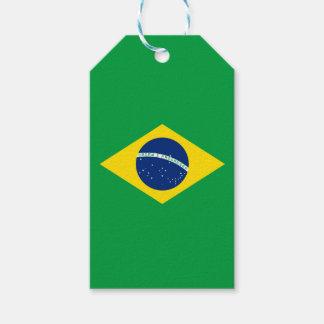 Flag of Brazil Gift Tag