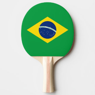 Flag of Brazil Ping Pong Paddle