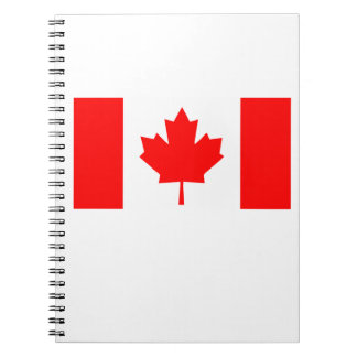 Flag of Canada Notebooks