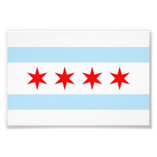 Flag of Chicago Photo Print