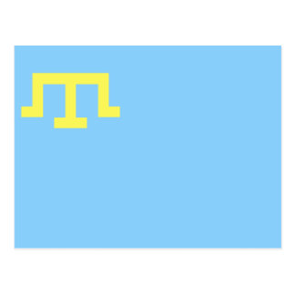 Flag of Crimean Tatars Postcard