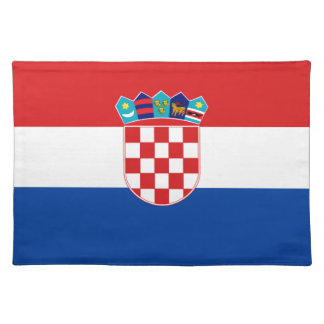 Flag of Croatia Placemat