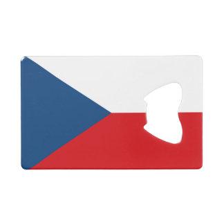 Flag of Czech Republic Credit Card Bottle Opener