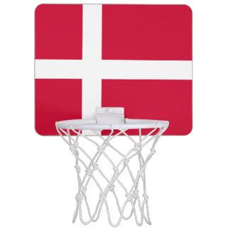 Flag of Denmark Mini Basketball Goal Mini Basketball Hoop