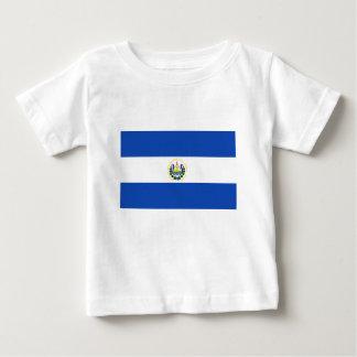 Flag of El Salvador - Bandera de El Salvador Baby T-Shirt