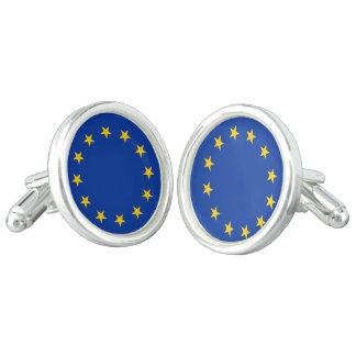 Flag of Europe, European Flag Cufflinks