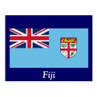 Flag of Fiji Postcard
