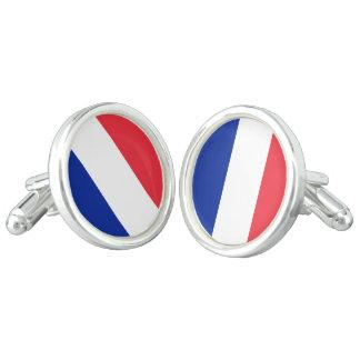 Flag of France, Tricolour National Flag Cufflinks