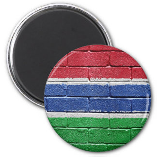 Flag of Gambia Magnet