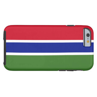Flag of Gambia Tough iPhone 6 Case